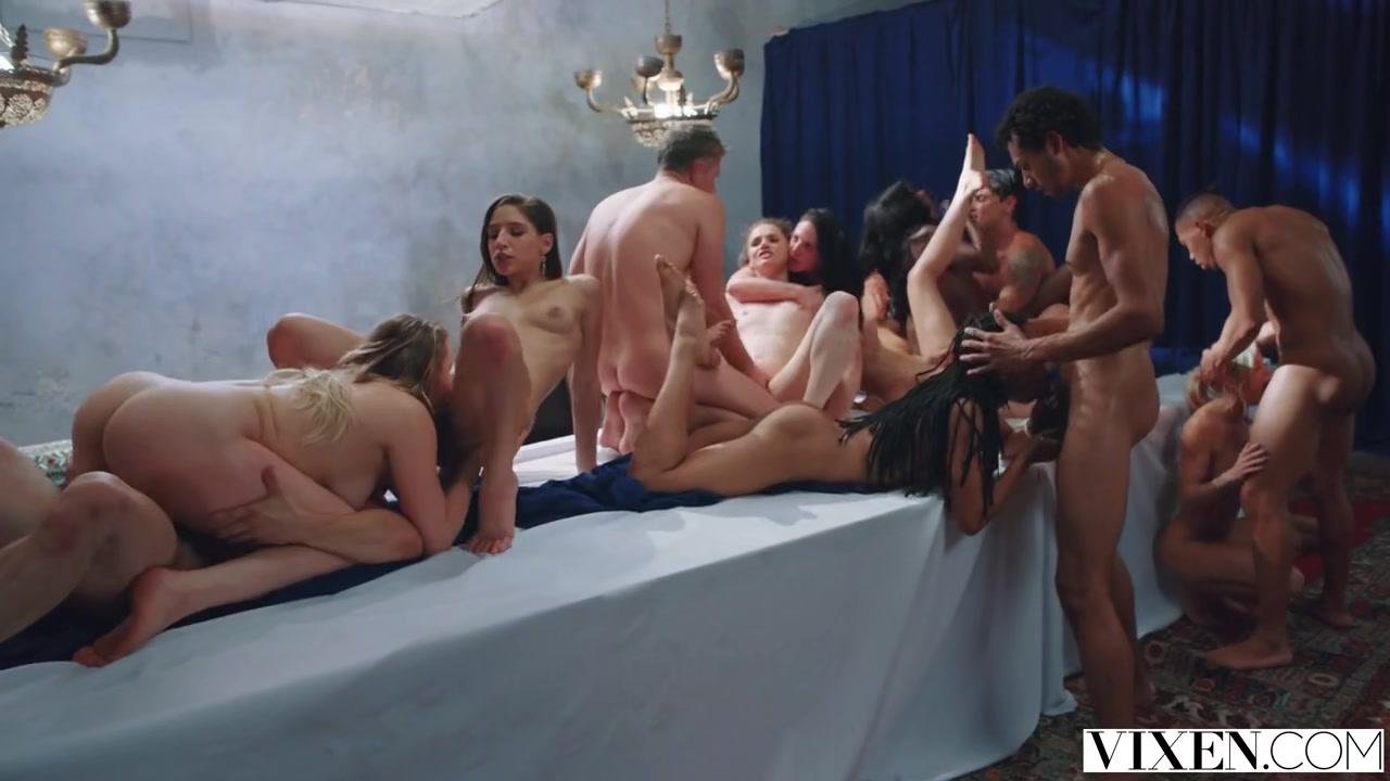 多位美女群P 这派对给力人太多数不过来啦