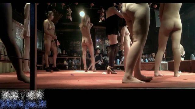 暗拍县城地下夜总会妹子们全裸艳舞表演