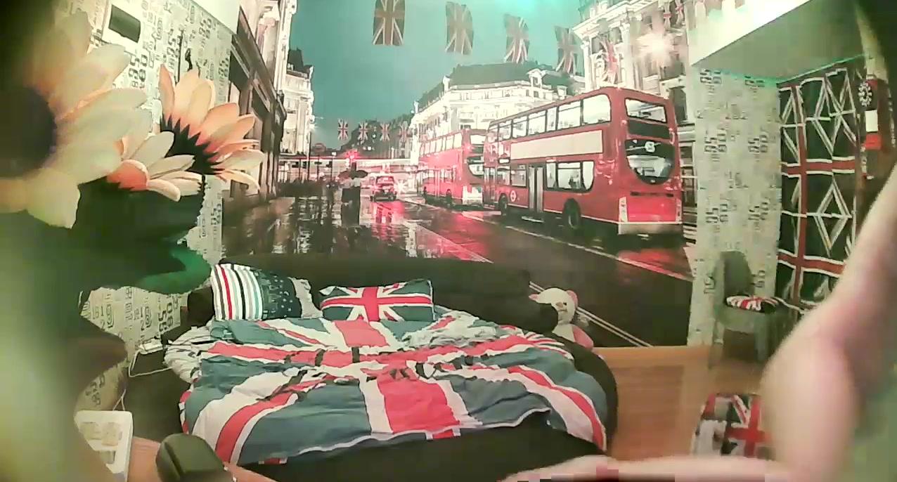 精品特色酒店英国伦敦主题套房偷拍床上搞得还不过瘾来到镜头前的椅子上草